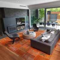现代客厅得尔地板装修效果图
