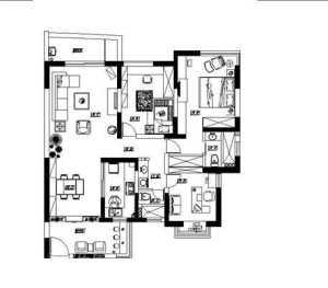3室普通装修价格