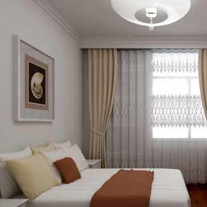 卧室极简北欧风装修效果图