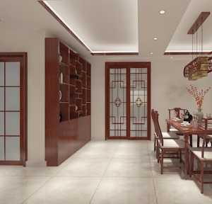富裕型中式三居室120-150平米