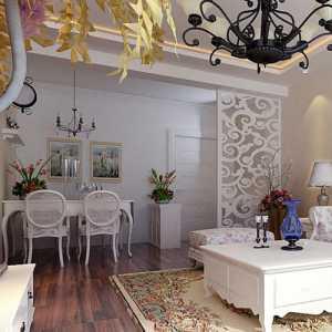 美式六居室以上客厅背景墙效果图