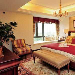 精致卧室窗帘布幔集效果图
