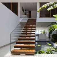 小资别墅楼梯装修效果图