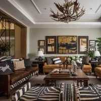 现代港式三居室客厅沙发效果图