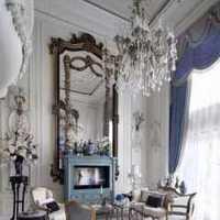 别墅客厅大红色地毯装修效果图