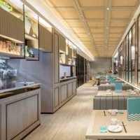 二居室餐厅日式装修效果图