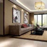 客厅抱枕布艺沙发装修效果图