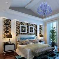 卧室背景墙飘窗田园卧室装修效果图
