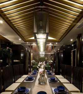 明亮宽敞餐厅效果图
