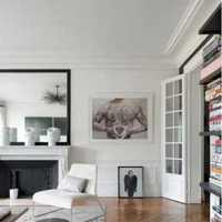 電視背景墻躍層吊頂美式風格臥室效果圖