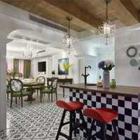简约欧式咖啡厅吊顶装修效果图
