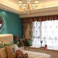 卧室家具壁纸双人简欧装修效果图