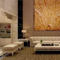 简约时尚清新客厅装修效果图