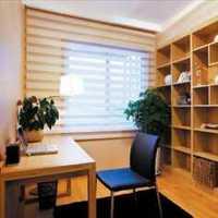 书桌书房书柜三居装修效果图