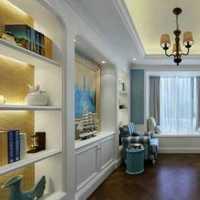 欧美风情二居室客厅橱柜效果图