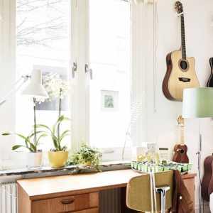 66平方米北欧乡村风公寓 让花花草草住进家