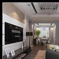 现代别墅光线通透型起居室装修效果图