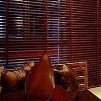 射灯过道地柜实木家具装修效果图