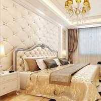 现代暖色系地毯别墅卧室装修效果图