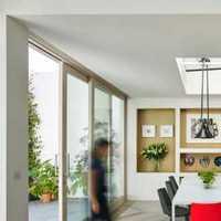 黑色背景墙餐厅现代三居装修效果图
