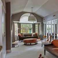 茶几灯具沙发80平米装修效果图