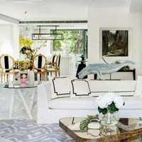 電視背景墻客廳地毯落地燈裝修效果圖