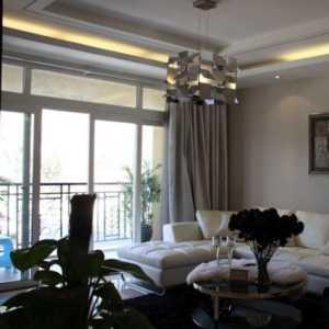 米色91-120平米三居室古典美式臥室效果圖
