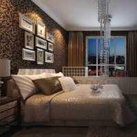 美式新古典风格三居室客厅隔断效果图