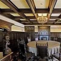 餐厅背景墙餐厅吊顶欧式装修效果图