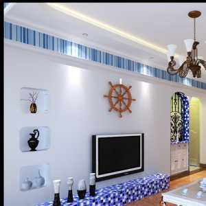 地中海卧室玻璃花瓶效果图