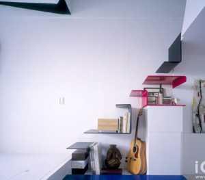 简约美式风格书房实用榻榻米效果图
