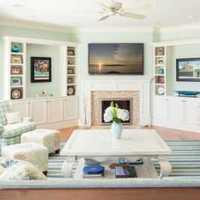 小户型地中海客厅二居装修效果图