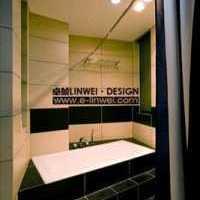 卫生间灰色卫生间瓷砖装修效果图