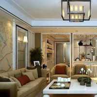 木地板客厅中式装修效果图