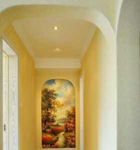 118平方米三居室实木装修效果图