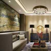 105平米三室一厅装修效果图