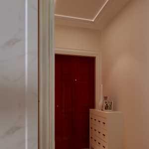 歐式風格四居室臥室隔斷效果圖