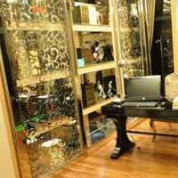 创意家居别墅书柜书房装修效果图
