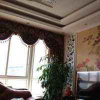 客厅背景墙书桌现代红色装修效果图