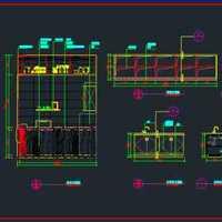 简约欧式书房墙面书房家具装修效果图