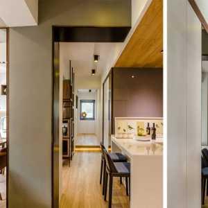 中式客厅连厨房装修效果图小户型