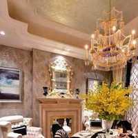 美式美式餐厅装修效果图
