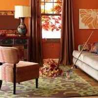 美式茶几三居室沙发装修效果图