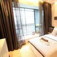 现代时尚卧室三居装修效果图
