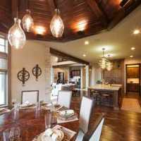 中式餐厅装修效果图 家居餐厅装修效果图 客厅餐厅...