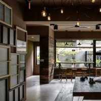 中式三居室稳重富裕型装修效果图