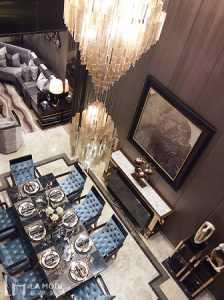 长条户型一居室装修效果图
