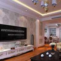 现代别墅白色清新起居室装修效果图