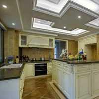 现代简约三居厨房创意家居装修效果图