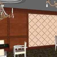 时尚现代130平米四居室装修效果图